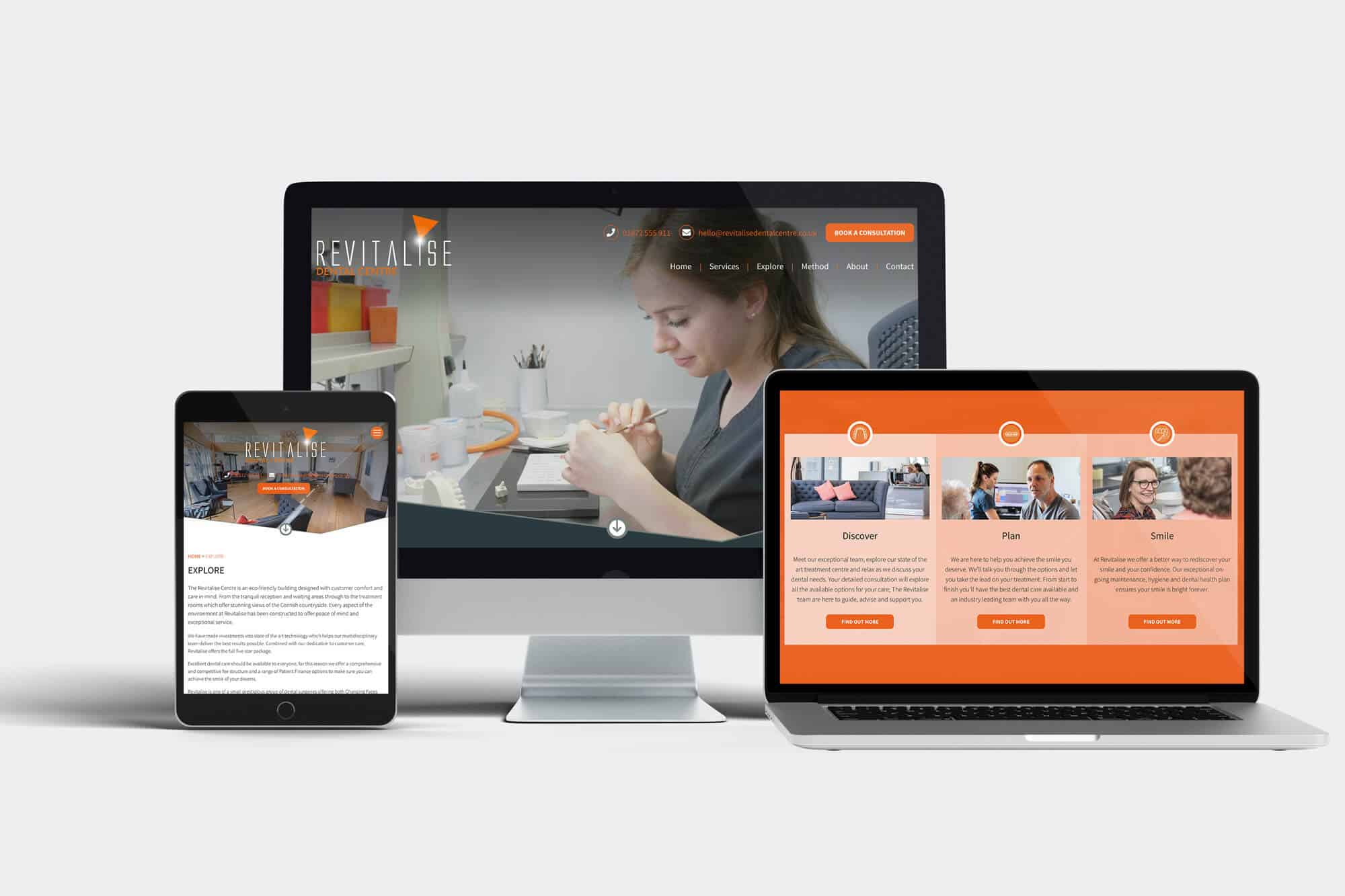 Revitalise Dental Centre New Website Launch